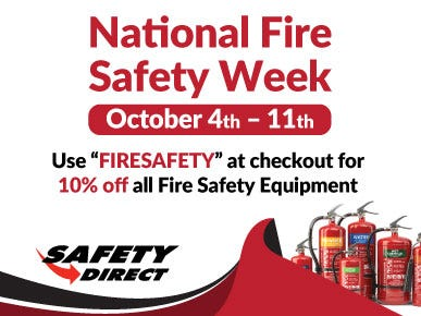 Fire Safety Week 2021 at Safety Direct