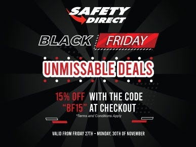 Black Friday Deals 2020 at Safety Direct