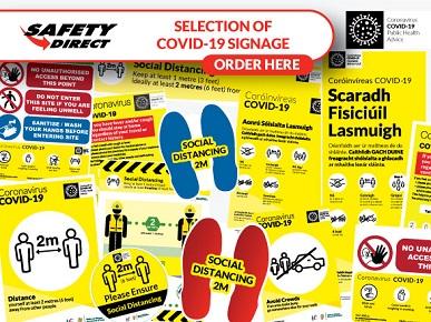 Coronavirus (COVID-19) Safety Signs