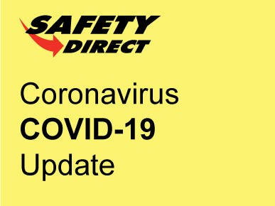 Coronavirus (COVID-19) Update from Safety Direct