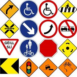 Road/Traffic Signage