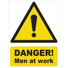 Dependable Danger! Men at Work Signs