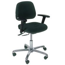 KDM ESD-Safe Operator's Armchair with Glides and Footrings