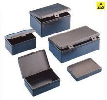 Wez Suisse Insert Boxes ESD Hinged Lid