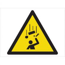 Dependable Warning! Falling Objects Symbol Signs
