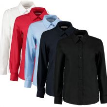 Kustom Kit Women's Workplace Shirt - Long Sleeve