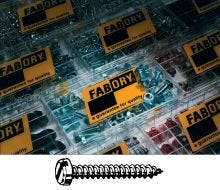 Fabory Cross Pan Head Tapping Screws