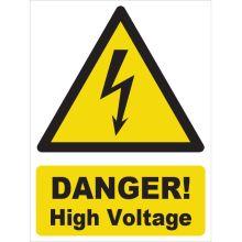 Dependable Danger! High Voltage Signs