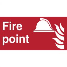 Dependable Fire Point Signs