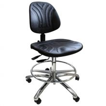 KDM ESD-Safe Praktic Cleanroom Chair with Castors