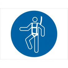 Dependable Wear Safety Harness Symbol Signs