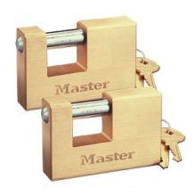 Masterlock Rectangular Brass Padlocks