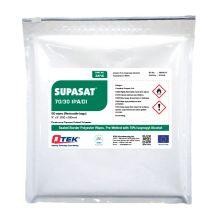 QTEK Supasat IPA/DI Polyester Wipes