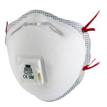 3M Valved Disposable Respirators