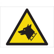 Dependable Warning! Guard Dog Symbol Signs
