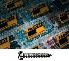Fabory Slotted Pan Head Tapping Screws