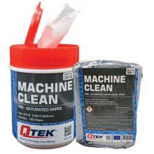 QTEK Machine Clean Wipes