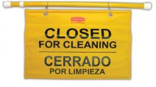 Rubbermaid Closed for Cleaning Sign