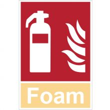 Dependable Foam Extinguisher Signs