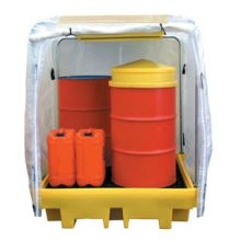 Outdoor Drum Spillage Unit & Cover
