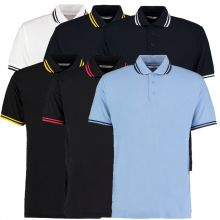 Kustom Kit Tipped Collar Polo's