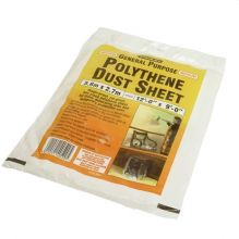 Stanley Polythene Dust Sheet