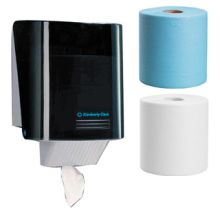 Kimberly-Clark Wypall Centrefeed Dispenser Rolls