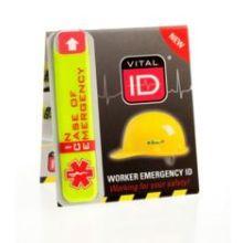 Vital ID Hard Hat Tag (Standard)