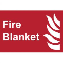 Dependable Fire Blanket Signs