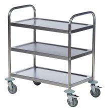 Kongamek Stainless Steel 3-Shelf Trolley