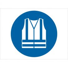 Dependable Wear High-Visibility Clothing Symbol Signs