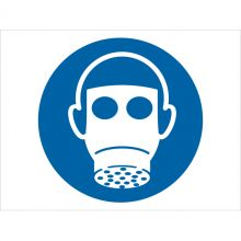 Dependable Wear Respiratory Protection Symbol Signs