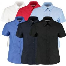 Kustom Kit Women's Workplace Shirt -Short Sleeve