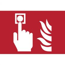 Dependable Location of Fire Alarm Call Point Symbol Signs