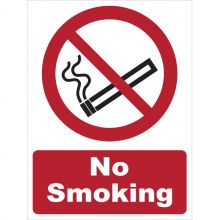 Dependable No Smoking Signs