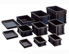 Wez Suisse Stackable Containers ESD - Safe