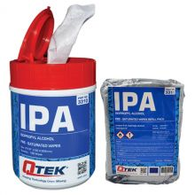 QTEK Pure IPA Wipes