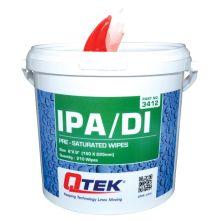 QTEK IPA/DI Pre-Saturated Wipes