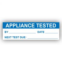 PremPak Write-On Labels - Appliance Tested