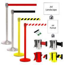 Retractable Belt Post
