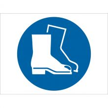 Dependable Wear Safety Footwear Symbol Signs
