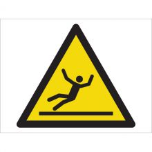 Dependable Warning! Slippery Surface Symbol Signs
