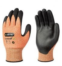 Skytec Gamma 3 Amber Cut Resistant Gloves