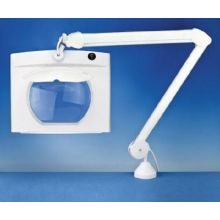 Peltec Rectangular Long Reach Magnifier Lamp