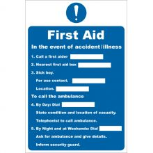 Dependable First Aid In The Event of Accident Illness Signs