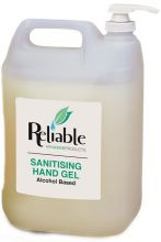 Reliable Sanitising Hand Gel with Pump - 5L