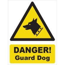 Dependable Danger! Guard Dog Signs