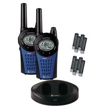 Cobra Walkie Talkie Radio Twin Pack with Charger