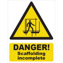 Dependable Danger! Scaffolding Incomplete Signs
