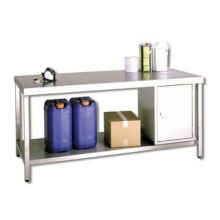 Pelstor Stainless Steel Workbench and Cabinet